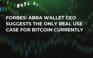 Forbes: Abra Wallet CEO Suggests the Only Real Use Case for Bitcoin Currently