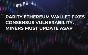 Parity Ethereum Wallet Fixes Consensus Vulnerability, Miners Must Update ASAP