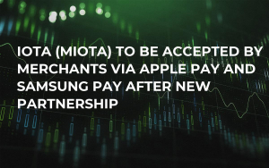 IOTA (MIOTA) to Be Accepted by Merchants via Apple Pay and Samsung Pay After New Partnership