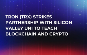 Tron (TRX) Strikes Partnership with Silicon Valley Uni to Teach Blockchain and Crypto