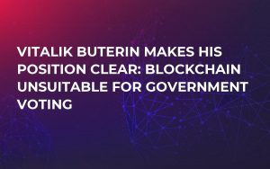 Vitalik Buterin Makes His Position Clear: Blockchain Unsuitable For Government Voting