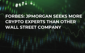Forbes: JPMorgan Seeks More Crypto Experts Than Other Wall Street Company
