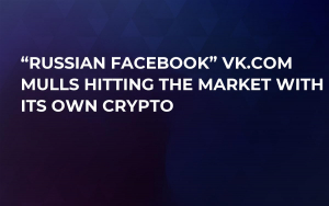 """Russian Facebook"" VK.com Mulls Hitting the Market with Its Own Crypto"