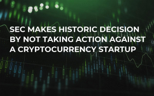 SEC Makes Historic Decision by Not Taking Action Against a Cryptocurrency Startup
