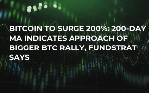 Bitcoin to Surge 200%: 200-Day MA Indicates Approach of Bigger BTC Rally, Fundstrat Says