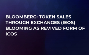 Bloomberg: Token Sales Through Exchanges (IEOs) Blooming as Revived Form of ICOs