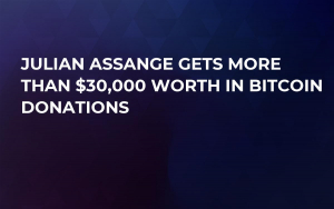 Julian Assange Gets More Than $30,000 Worth in Bitcoin Donations