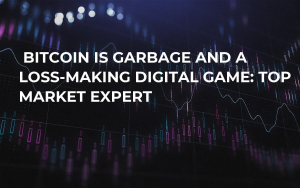 Bitcoin Is Garbage and a Loss-Making Digital Game: Top Market Expert