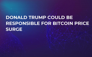Donald Trump Could Be Responsible for Bitcoin Price Surge