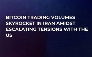 Bitcoin Trading Volumes Skyrocket in Iran Amidst Escalating Tensions with the US