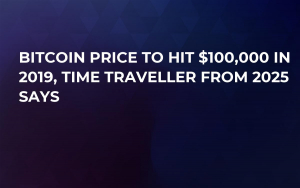 Bitcoin Price to Hit $100,000 in 2019, Time Traveller from 2025 Says
