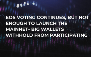 EOS Voting Continues, But Not Enough to Launch the Mainnet- Big Wallets Withhold From Participating