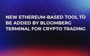 New Ethereum-Based Tool to Be Added by Bloomberg Terminal for Crypto Trading