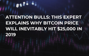 Attention Bulls: This Expert Explains Why Bitcoin Price Will Inevitably Hit $25,000 in 2019