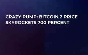 Crazy Pump: Bitcoin 2 Price Skyrockets 700 Percent