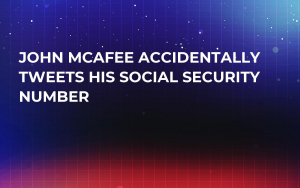 John McAfee Accidentally Tweets His Social Security Number