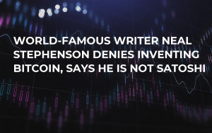 World-Famous Writer Neal Stephenson Denies Inventing Bitcoin, Says He Is not Satoshi