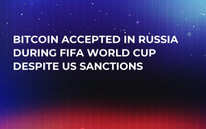 Bitcoin Accepted in Russia During FIFA World Cup Despite US Sanctions