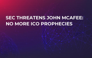 SEC Threatens John McAfee: No More ICO Prophecies