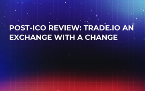 Post-ICO Review: Trade.io an Exchange With a Change