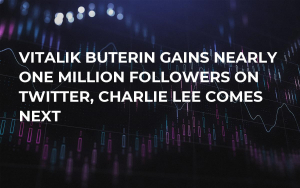 Vitalik Buterin Gains Nearly One Million Followers on Twitter, Charlie Lee Comes Next