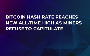 Bitcoin Hash Rate Reaches New All-Time High as Miners Refuse to Capitulate