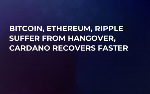 Bitcoin, Ethereum, Ripple Suffer From Hangover, Cardano Recovers Faster