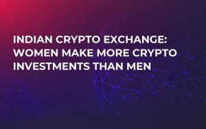 Indian Crypto Exchange: Women Make More Crypto Investments Than Men