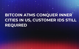 Bitcoin ATMs Conquer Inner Cities in US, Customer IDs Still Required