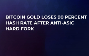 Bitcoin Gold Loses 90 Percent Hash Rate After Anti-ASIC Hard Fork
