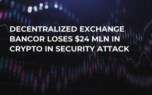 Decentralized Exchange Bancor Loses $24 Mln in Crypto in Security Attack