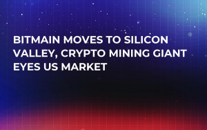 Bitmain Moves to Silicon Valley, Crypto Mining Giant Eyes US Market
