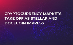 Cryptocurrency Markets Take Off as Stellar and Dogecoin Impress