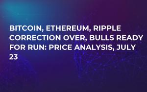 Bitcoin, Ethereum, Ripple Correction Over, Bulls Ready for Run: Price Analysis, July 23