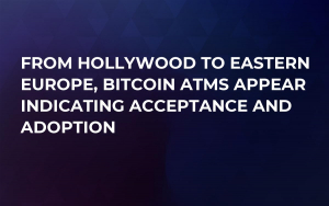 From Hollywood to Eastern Europe, Bitcoin ATMs Appear Indicating Acceptance and Adoption