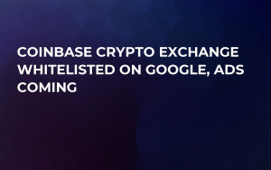 Coinbase Crypto Exchange Whitelisted on Google, Ads Coming