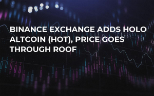Binance Exchange Adds Holo Altcoin (HOT), Price Goes Through Roof