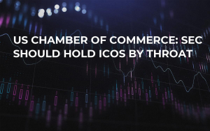 US Chamber of Commerce: SEC Should Hold ICOs by Throat