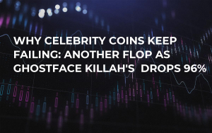 Why Celebrity Coins Keep Failing: Another Flop as Ghostface Killah's  Drops 96%