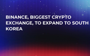 Binance, Biggest Crypto Exchange, to Expand to South Korea