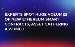 Experts Spot Huge Volumes of New Ethereum Smart Contracts, Asset Gathering Assumed