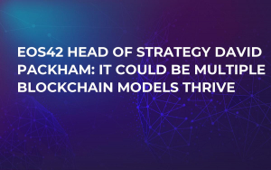 EOS42 Head of Strategy David Packham: It Could Be Multiple Blockchain Models Thrive