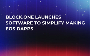 Block.One Launches Software to Simplify Making EOS Dapps
