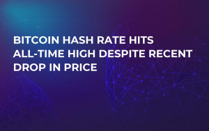 Bitcoin Hash Rate Hits All-Time High Despite Recent Drop in Price