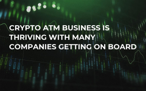 Crypto ATM Business is Thriving With Many Companies Getting on Board