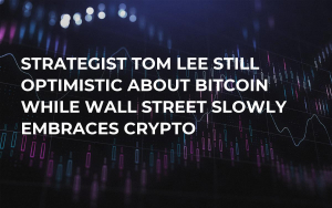 Strategist Tom Lee Still Optimistic About Bitcoin While Wall Street Slowly Embraces Crypto