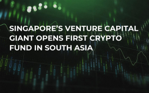 Singapore's Venture Capital Giant Opens First Crypto Fund in South Asia