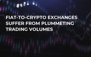 Fiat-to-Crypto Exchanges Suffer From Plummeting Trading Volumes