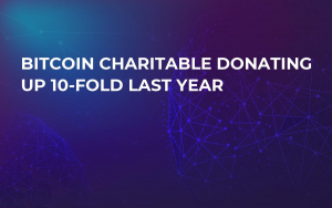 Bitcoin Charitable Donating up 10-Fold last year