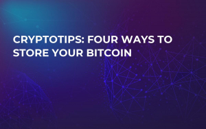 CryptoTips: Four Ways to Store Your Bitcoin
